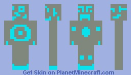 diamond golem Minecraft Skin