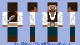 Pirate Steve - Skin