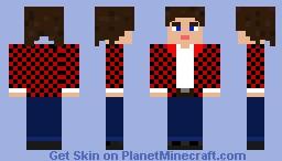Sam Winchester (plaid) Minecraft Skin