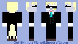 Derpy Hooves Skin in a Tuxedo!