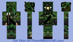 Hunter Camo!!! Minecraft Skin