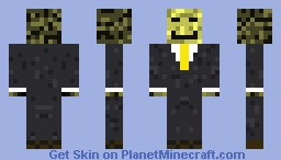 Suited Simple Colors Minecraft Skin