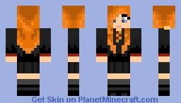 Ginny Weasley Minecraft Skin