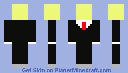 Man with purple/yellow head
