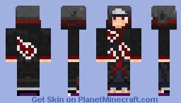 Itachi Uchiha version 2 Minecraft Skin