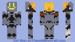 Agent maine Minecraft Skin