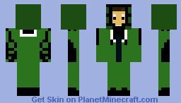 nerd dude Minecraft Skin