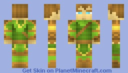Forest Archer - (RPG skin battle v. Haribofighter) Minecraft Skin