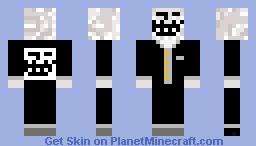 Troll in a suit Minecraft Skin