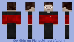 Star Trek guy Minecraft Skin