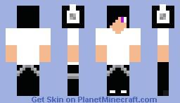 V-Neck Minecraft Skin