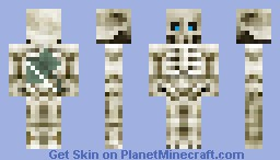 Skeleton! Minecraft Skin