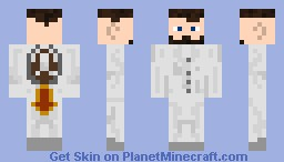 Spaceman from Space Minecraft Skin