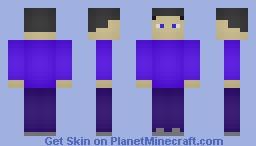 Guy1000 remake Minecraft Skin