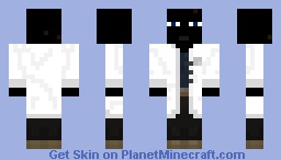 Ender scientist -please leave a diamond Minecraft Skin