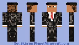 Man & Cap Minecraft Skin