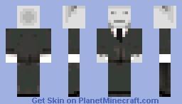 Slenderman Minecraft Skin