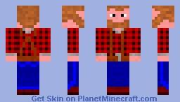 Redneck Minecraft Skin
