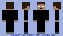 "Herobrine From ""Gods Don't Bleed"" Minecraft Skin"