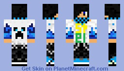 Stel (me in Lets Play) Minecraft Skin