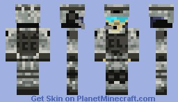 Call Of Duty: Black Ops 2 Minecraft Skin