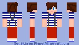 Louis Tomlinson Minecraft Skin