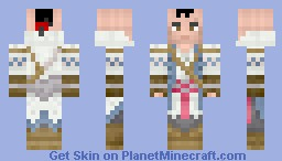 connor kenway (mohawk and no hood) Minecraft Skin