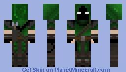 Ender forest archer NEW Minecraft Skin