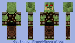 Orc Guard #3 By Alpha_Poster Minecraft Skin