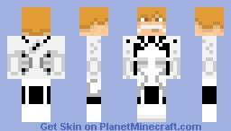 Fullbring Ichigo Kurosaki (Bleach) Minecraft Skin
