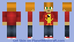 my first shaded skin Minecraft