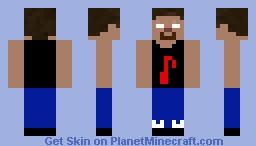 Cool Herobrine Minecraft Skin