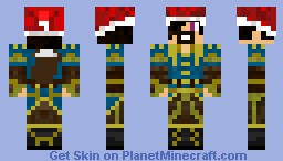 Christams Adult Steampunker Minecraft Skin