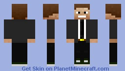 TEEN SUIT Minecraft Skin