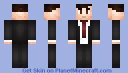 Aaron Hotchner - Criminal Minds Minecraft Skin