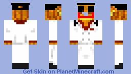 flat brim snapback hat Minecraft Skin