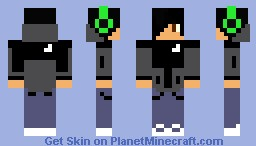 The North Face Minecraft Skin