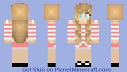 My Best Friend X3 Minecraft Skin