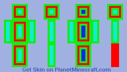 target robot Minecraft Skin