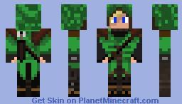elven archer Minecraft Skin