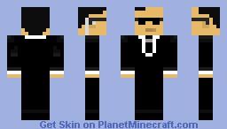 Mr. Smith Minecraft Skin