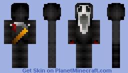 Scream ;o Minecraft Skin