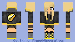 Butter Girl Minecraft Skin