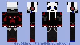 Teen Panda (Red) Minecraft Skin