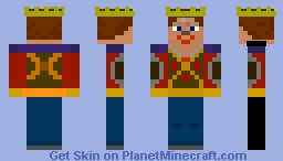 Medieval King - Casual Minecraft Skin
