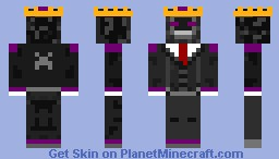 King Ender Skeleton Minecraft Skin