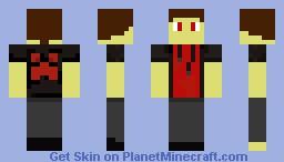 Demon boy (Made from skindex) Minecraft Skin