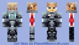 Commander Shepard Minecraft Skin