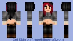 Steampunk Warrior Minecraft Skin