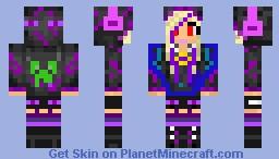 Evil girl Minecraft Skin